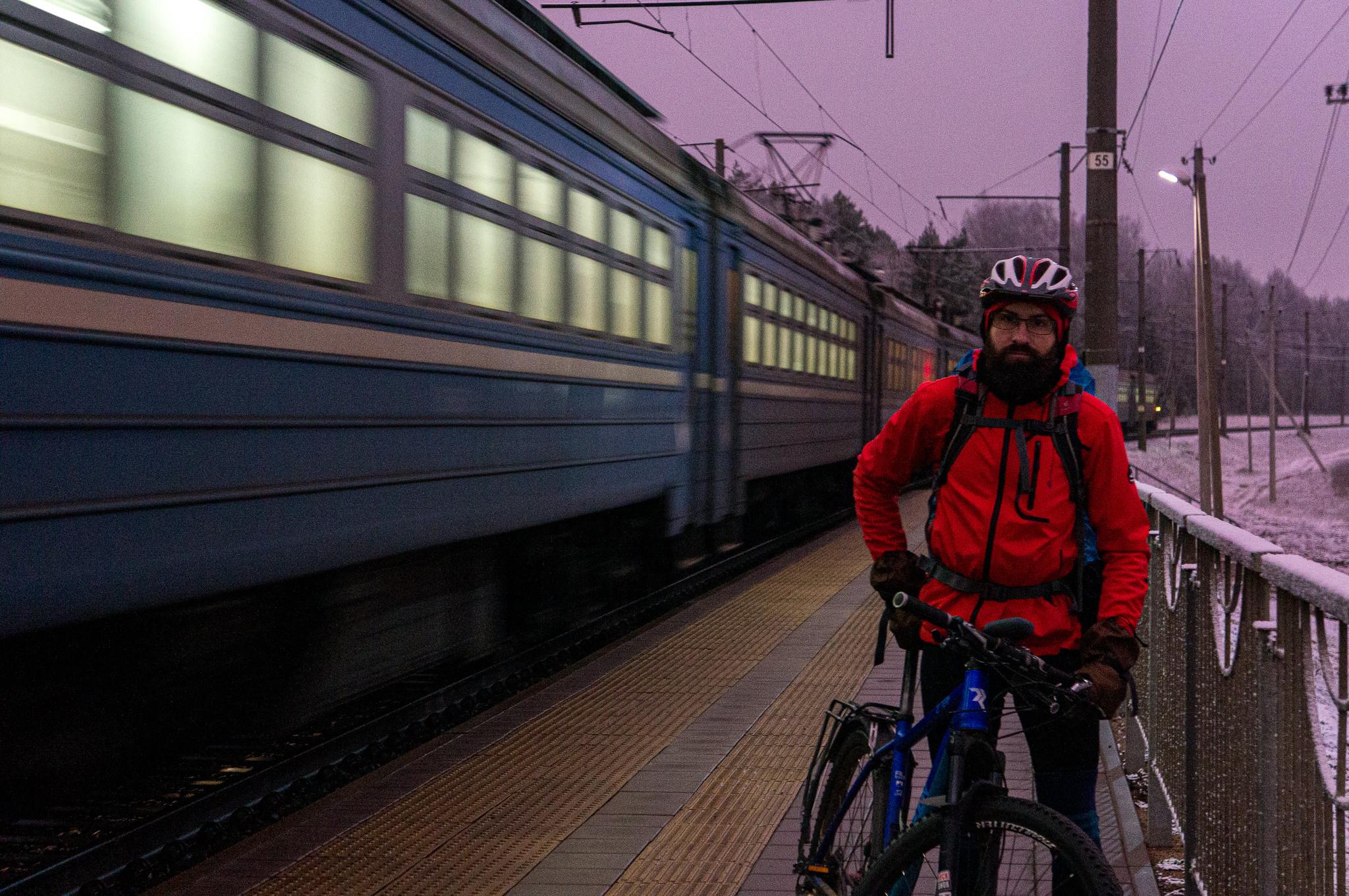 на станции Крыжовка