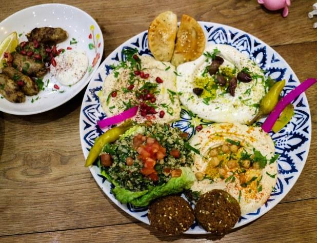 Restaurante Comptoir libanes en Londres
