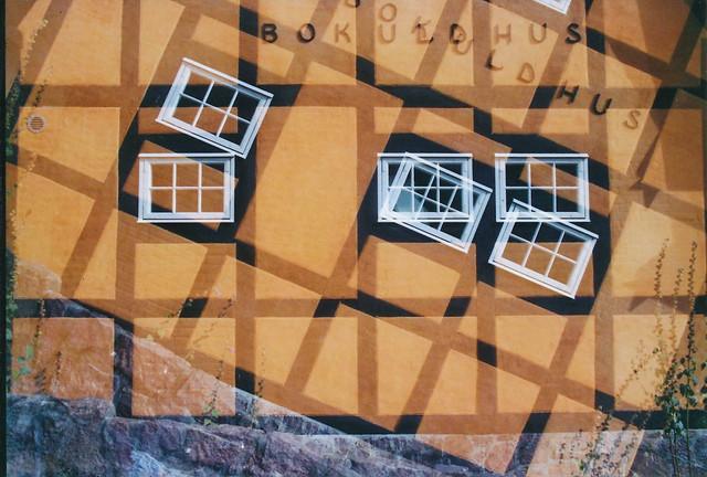 half-timbered houses,, series III: Gudhjem