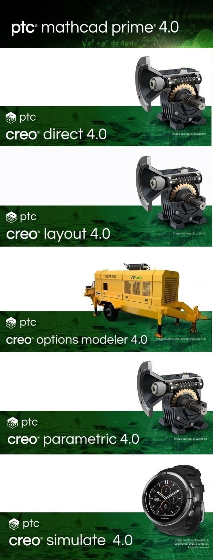 PTC Creo 4.0 M120 x64 full crack forever