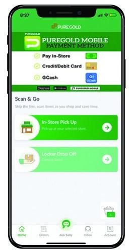 Sally Mobile app