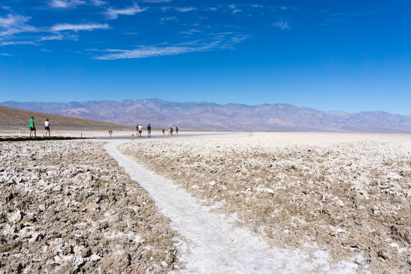 Badwater Basin, Death Valley National Park, Calif., July 2019