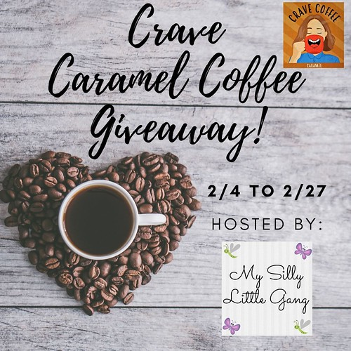Crave Caramel Coffee Giveaway ~ Ends 2/27 #MySillyLittleGang