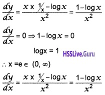 Plus Two Maths Application of Derivatives 4 Mark Questions and Answers 41