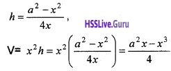Plus Two Maths Application of Derivatives 6 Mark Questions and Answers 79