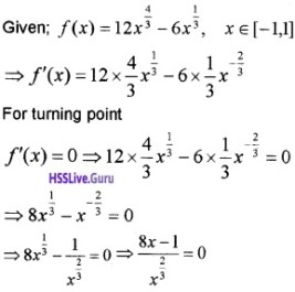 Plus Two Maths Application of Derivatives 4 Mark Questions and Answers 43