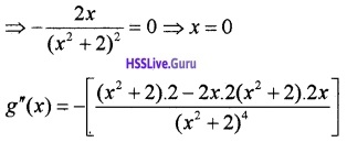 Plus Two Maths Application of Derivatives 3 Mark Questions and Answers 16