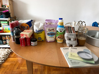 second batch of groceries