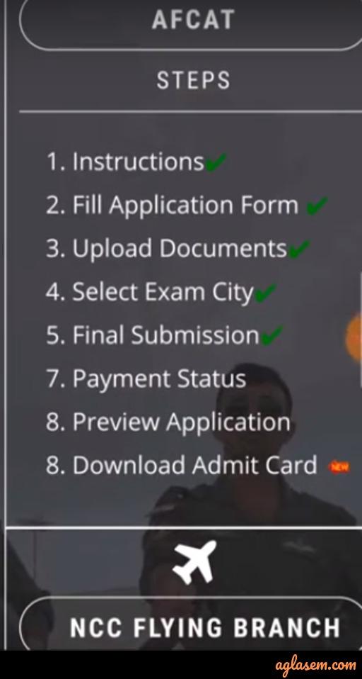AFCAT 2021 Admit Card