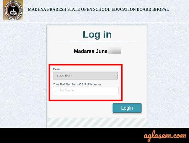 MP Madarsa 12th Result June 2020