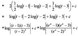 Plus Two Maths Integrals 6 Mark Questions and Answers 98