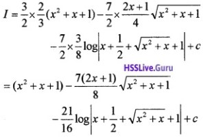 Plus Two Maths Integrals 6 Mark Questions and Answers 63