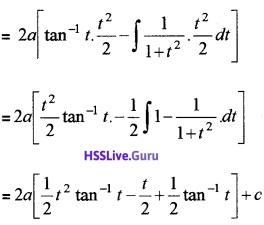 Plus Two Maths Integrals 4 Mark Questions and Answers 40