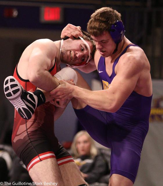 174-No. 10 Zach Johnston (MSU) dec. Evan Foster, 8-6 - 200206mb0115