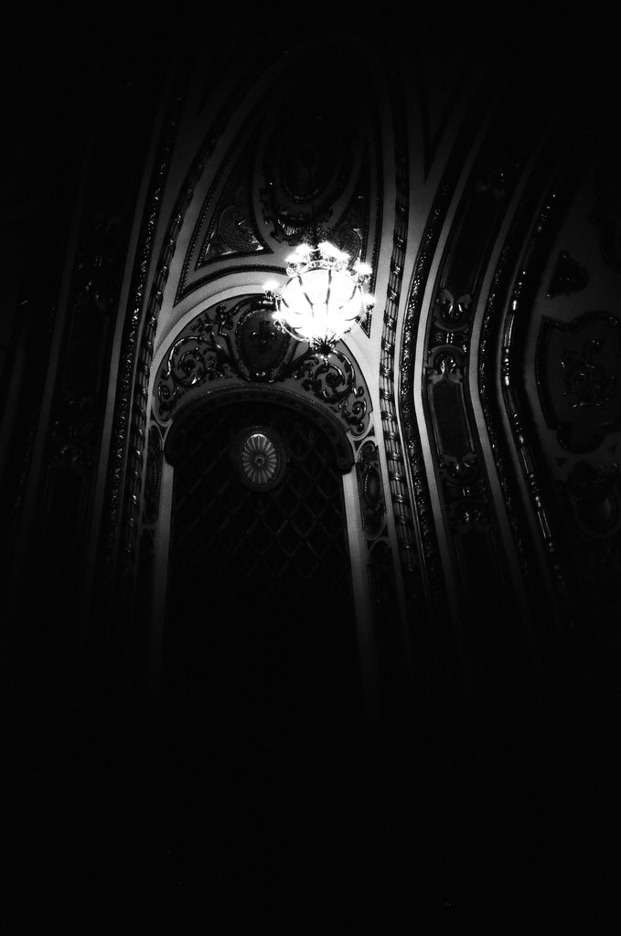 Inside the Cadillac Palace Theatre