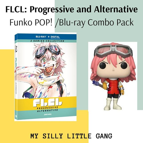 FLCL: Progressive and Alternative - Funko POP! /Blu-ray Combo Pack @WBHomeEnt #MySillyLittleGang #Sponsored