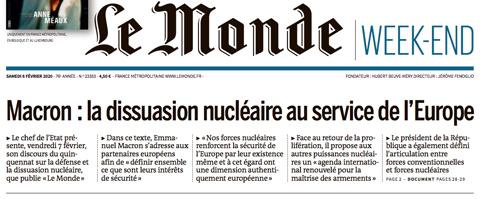 20b07 Macron el arma nuclear francesa al servicio de Europa Uti 485