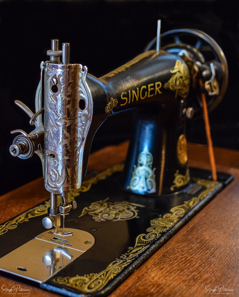 Rotary Sewing Machine : rotary, sewing, machine, Singer, Model, Rotary, Sewing, Machine, (1912-1935), Flickr
