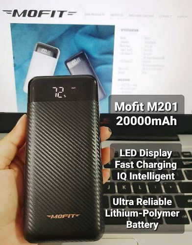 Mofit Powerbank: Stylish, Reliable, Durable and Affordable