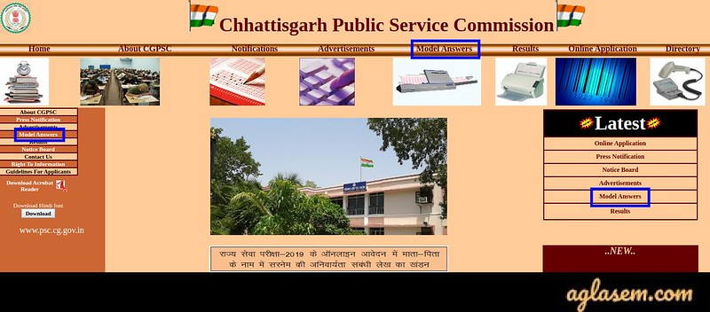 Chhattisgarh Civil Judge Answer Key 2020