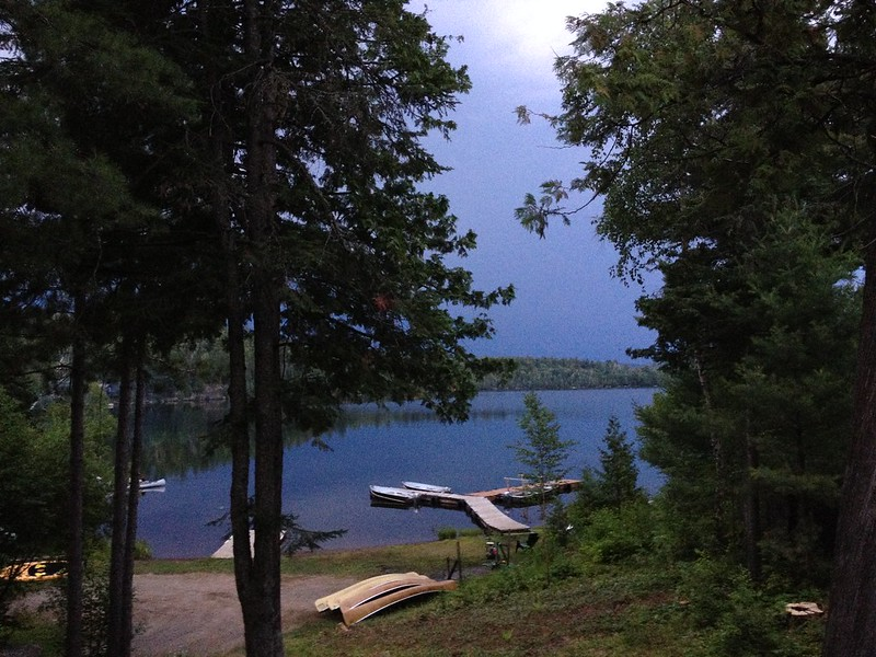 Clearwater Lake before the storm?