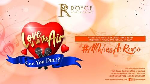 Love is in the Air #OnlyATRoyce