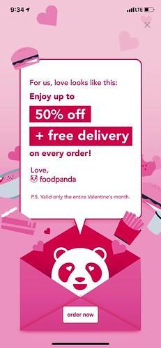 love, foodpanda