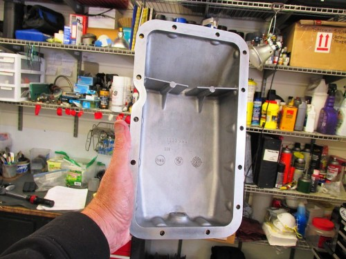 Clean Oil Pan Mating Surface
