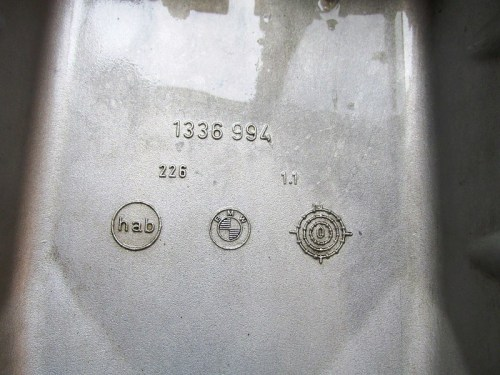Oil Pan Casting Number