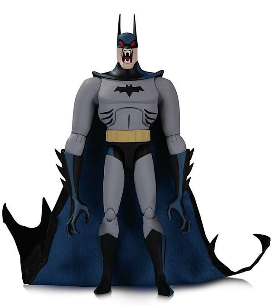 獲得嗜血的非人之力!DC Collectibles Batman: The Adventures Continue 系列【吸血鬼蝙蝠俠】Vampire Batman 6 吋可動人偶 ...