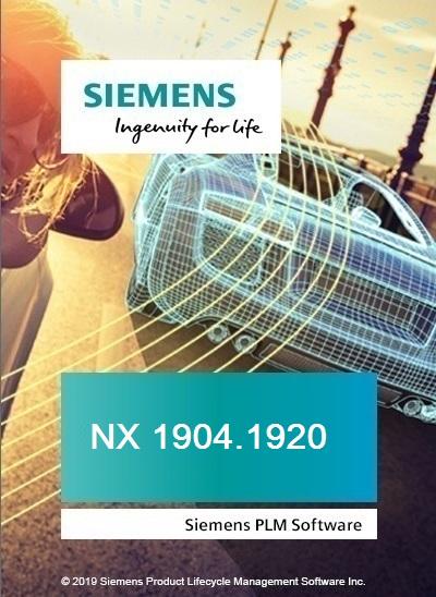 Siemens NX 1904 Build 1920 x64 full license