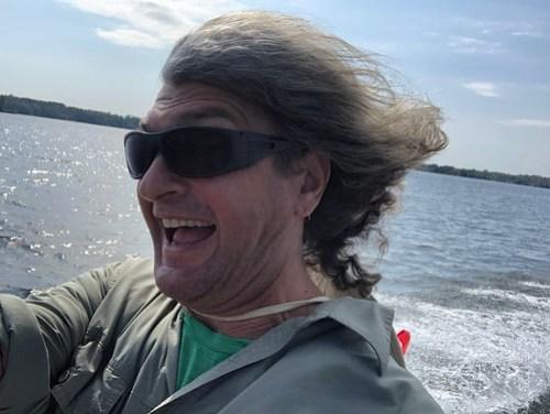 Westport - Pierres hair in the wind