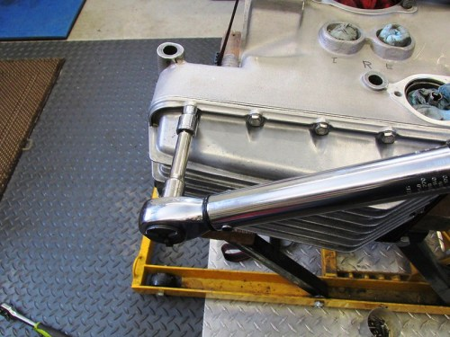 Torque In Stages-25, 45, 60 INCH-Lbs [Use 72 INCH-Lbs On Last Stage For Dry Steel Bolts]
