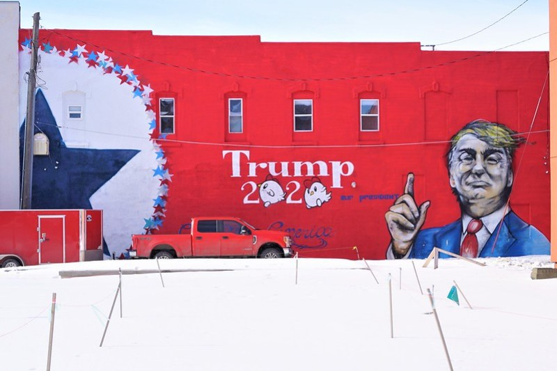 Ames, Iowa, Feb. 1, 2020 - 2020 Iowa Caucus