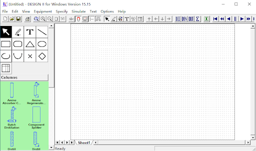 Working with WinSim DESIGN II 15.15 full license