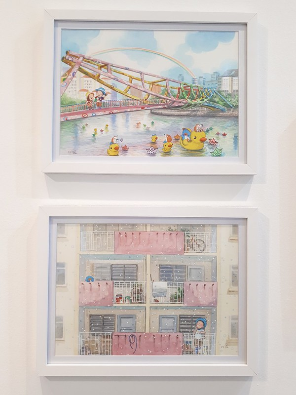City Girl City Stories: Ah Guo-Whimsical Reality exhibition