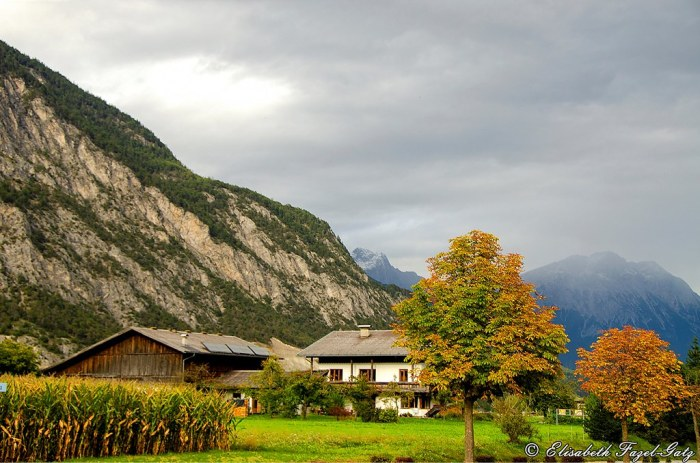 Autumn Time In The Upper Inn Valley, Tyrol