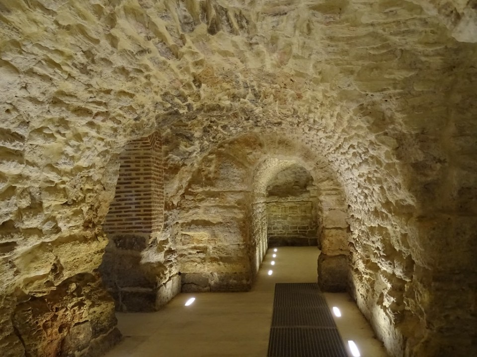 criptopórticos romanos Conjunto Arqueologico Romano Medina Sidonia Cadiz 02