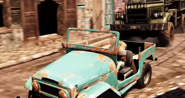 Uncharted 2 - Jeep Chase