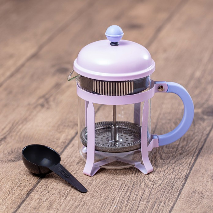 4-cup Pink Spring Coffee Press