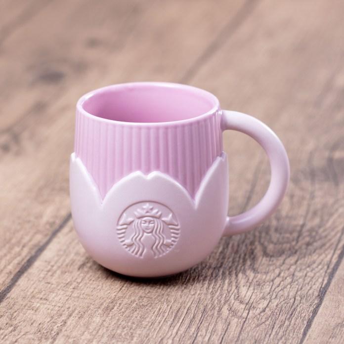 星巴克 2020年春季_14oz Pink Blossom Mug