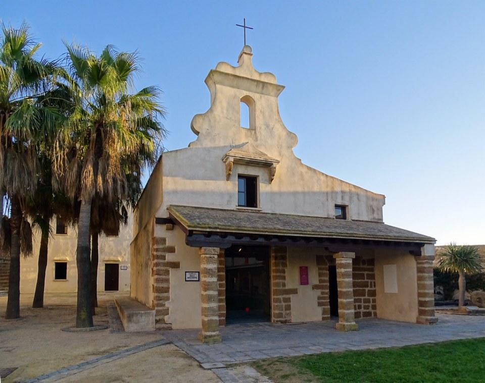 Cádiz Capilla del Castillo de Santa Catalina 01