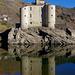 Pourcharesses (Lozère) : château de Castanet