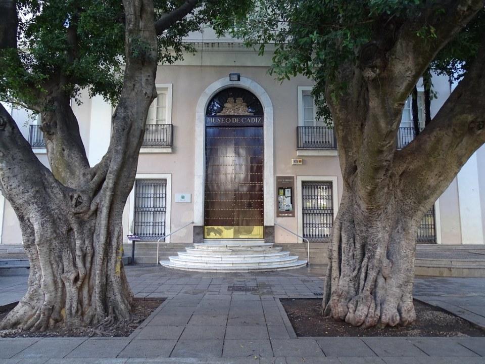 Museo de Cadiz en plaza de Mina Cadiz