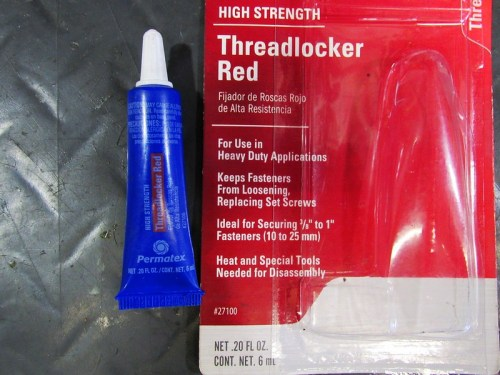 """Loctite """"Red"""" Type 263 And Permatex Equivalent (27100)"""