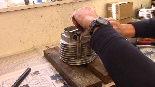 Make Push Rod Tube Depth Measurement-Adjust Tube As Required