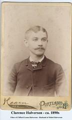 Clarence Halverson - ca. 1890s