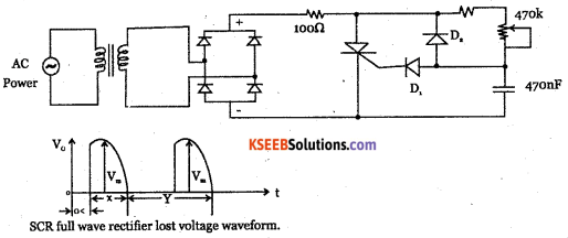 2nd PUC Electronics Question Bank Chapter 9 Power Electronics and its Applications 34