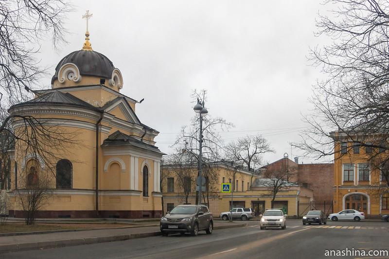 Санкт-Петербург, Кронштадт, Храм-часовня Тихвинской иконы Божией Матери