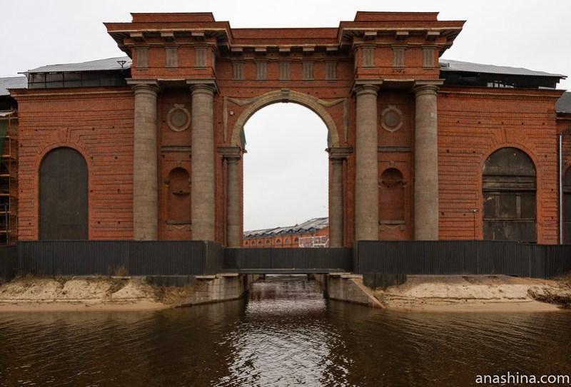 Арка Новой Голландии, Санкт-Петербург